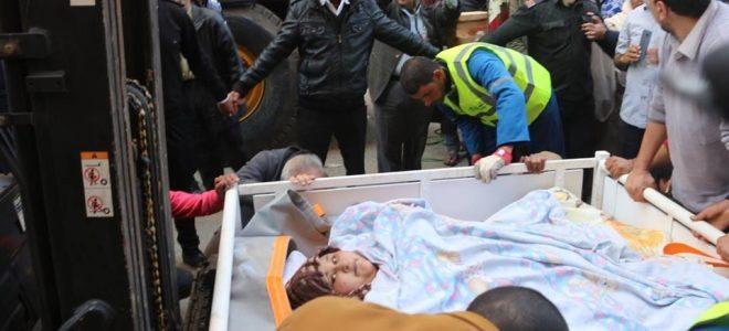 الحماية المدنية بالإسكندرية تقوم بنقل أسمن فتاة في العالم للمطار