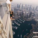 العارضة الروسية فيكى اودنتيكافا تتحدث عن صور سقوطها من برج دبي
