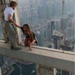 أخطر سيلفي في دبي!