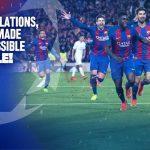 بعد سداسية باريس سان جيرمان برشلونة أول فريق يعود من أربعة أهداف في دوري أبطال أوروربا