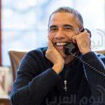 لأول مرة أوباما يكشف عن وظيفته الجديدة