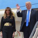 ميلانيا ترامب ترفض الإمساك بيد الرئيس الأمريكي للمرة الثانية خلال 24 ساعة