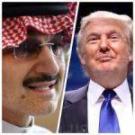 الجارديان توضح علاقة ترامب مع الوليد بن طلال