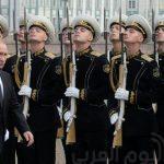 شاهد.. بوتين يحضر احتفال البحرية الروسية بعيدها الوطني