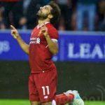 محمد صلاح يحسم التعادل لفريق ليفربول أمام ويجان في أول مباراة له