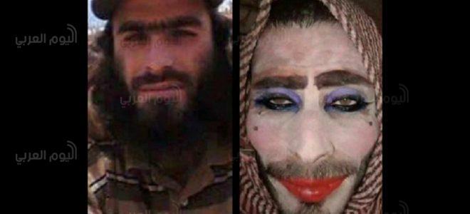 بالفيديو.. أغبى داعشي تنكر بزي امرأة لكن ماذا حدث