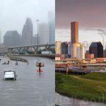 شاهد.. تدمير إعصار هارفي لولاية «تكساس»