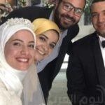 شاهد بالصور.. زفاف الداعية معز مسعود وبسنت نور الدين