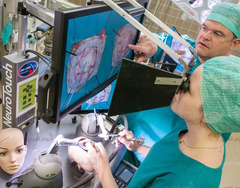 الواقع الافتراضي في العمليات الجراحية