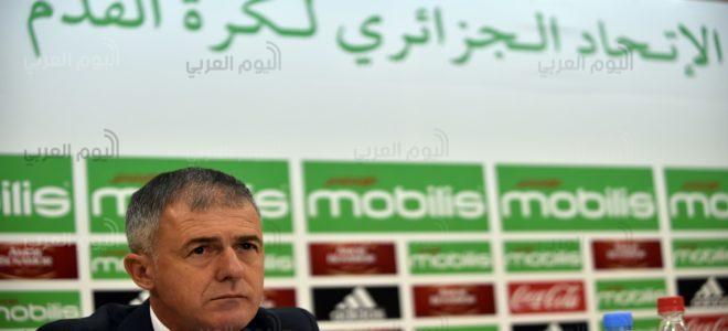 """الإطاحة ب""""ألكازار"""" من الإدارة الفنية لمنتخب الجزائر"""