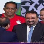 شاهد ماذا قال الرئيس السيسي لمجدي عبد الغني أثناء تكريم المنتخب الوطني