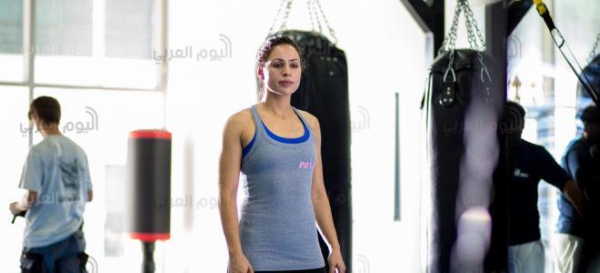 تعرف على شادية بسيسو أول عربية تدخل عالم المصارعة الحرة