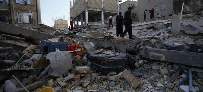 بالفيديو… لحظة وقوع الزلزال الذي ضرب الحدود العراقية الإيرانية أمس
