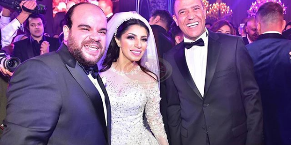 """شاهد/ حفل زفاف""""محمد عبد الرحمن""""وغناء الهضبه ورقص نجوم مسرح مصر"""