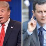 ترامب يواجه الاسد . ويتهدد بقصف سوريا