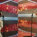 صور وفيديو.. أنغام وزوجها يخطفان الأنظار في حفل موريكس دور.. وتامر حسني أفضل نجم عربي