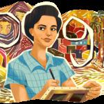 جوجل يحتفي بذكري ميلاد الفنانة إنجي أفلاطون