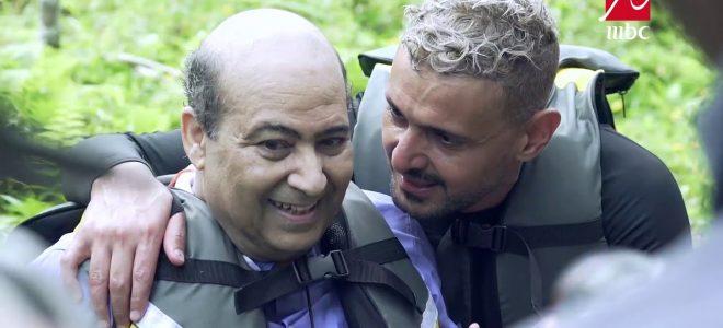 حلقة طارق الشناوي تكشف حقيقة فبركة رامز في الشلال.. فيديو