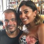 عمرو دياب يفاجئ الجميع بصورة رسمية مع دينا الشربيني.. هل يعلن طبيعة علاقتهما