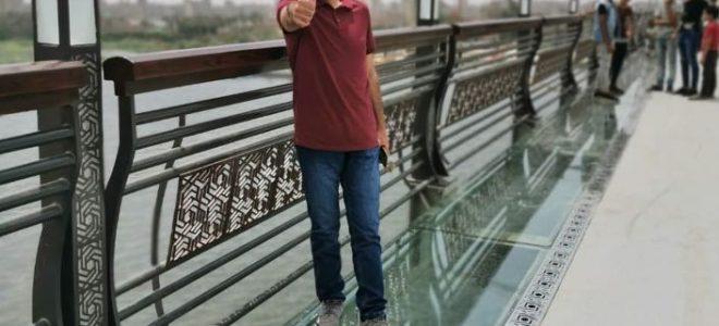 إبراهيم بهزاد.. إماراتي عاشق لمصر ويدعم سياحتها على طريقته الخاصة