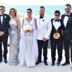 بالصور- نجوم الفن والمجتمع في حفل زفاف نجل ماجد المصري