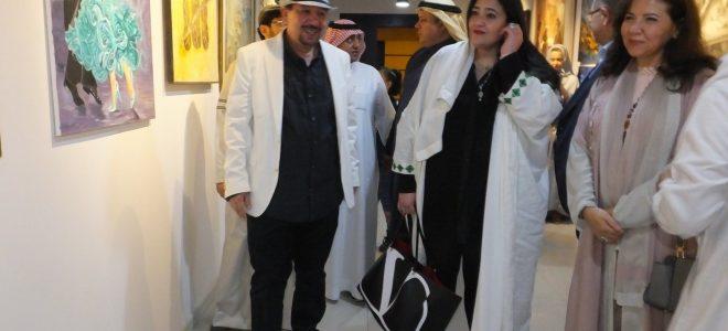 العالمية شاليمار شربتلي تفتتح معرض جدة عروس الفن