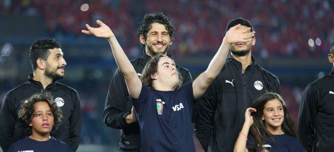 شاهد.. لقطة رائعة من مباراة مصر و جنوب أفريقيا