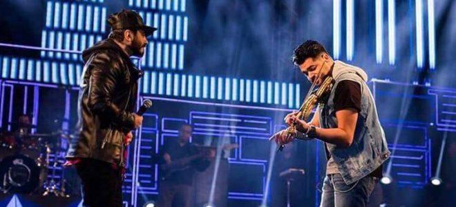 تامر حسني يغني بألة جديدة لأول مرة