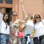 ماذا تفعل أسرة كريستيانو رونالدو  في مصر؟