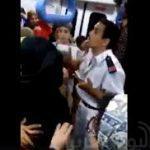 شاهد.. اعتداء أمين شرطة على سيدة داخل عربة بالمترو.. ومصدر أمني يكشف الحقيقة