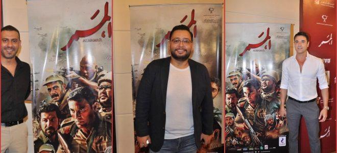 """أحمد رزق يرد على منتقدي ظهوره  في فيلم """"الممر""""  كجندي بوزن زائد ونظارة"""